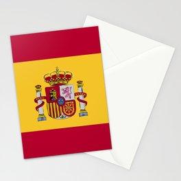 Spain flag emblem Stationery Cards
