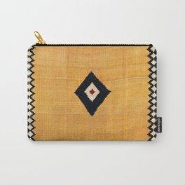 Qashqa'i Fars Southwest Persian Kilim Print Carry-All Pouch