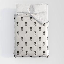 Sketchy Emojis Print Pattern Comforters