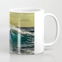 Wave Series Photograph No. 9 - Sunset on the Water Coffee Mug