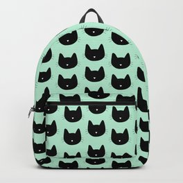 Cat Heart Nose Pattern Backpack