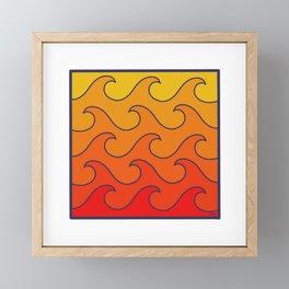 Fire In A Box Framed Mini Art Print