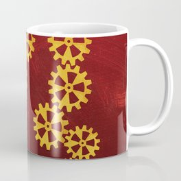 Cool golden steampunk design Coffee Mug