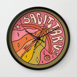 2020 Sagittarius Wall Clock