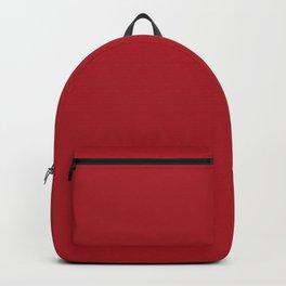 ADRENALINE RUSH Dark Red solid color Backpack