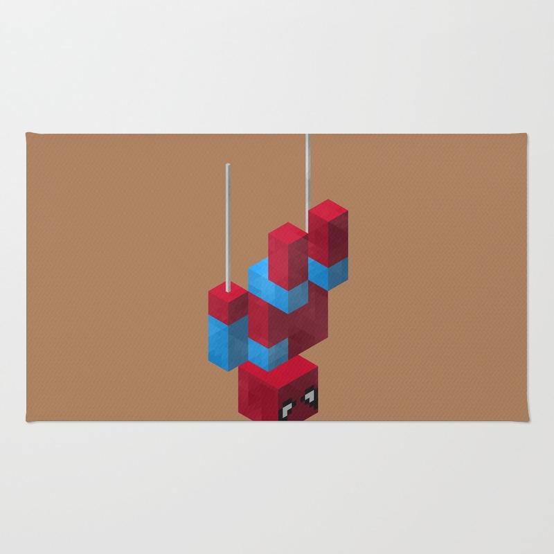 Sensational Spider Man Rug by Joshbelden RUG932876