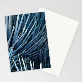 Washingtonia in blue Stationery Cards
