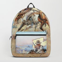 Smoke of a .45 - Charles Marion Russell Backpack