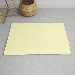 Simply Pale Yellow Rug