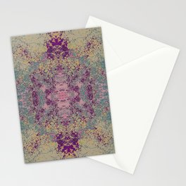 Abstract Colorful Bohemian Chic Art - Rambala Stationery Cards