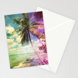Prismatic Palm Stationery Cards