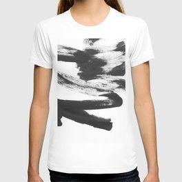 b+w strokes 5 T-shirt