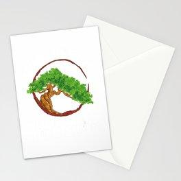 Bonsai Girl Miniature Small Tree Japanese Garden Short Girls T-Shirt Stationery Cards