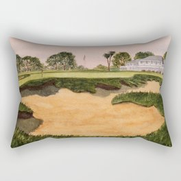 Los Angeles Country Club North Course 9th Hole Rectangular Pillow