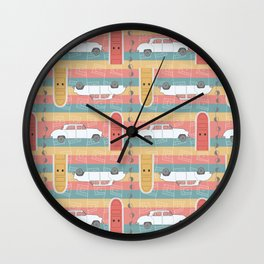 Whimsipattern #6 Wall Clock