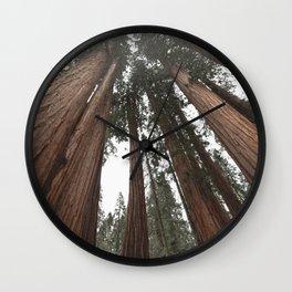 Sky Climbers - Sequoia Wall Clock