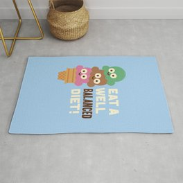 Coneventional Wisdom Rug