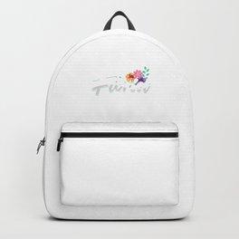I´m A Florist Florists Flowers Bouquet Garden Gardening Gift Backpack
