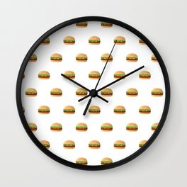 Hamburger Lover Wall Clock