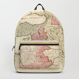 Map of the Middle East (1725) Backpack