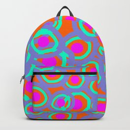 Abstract circle-pattern Backpack