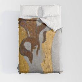 Gustav Klimt - Die Künste Comforters