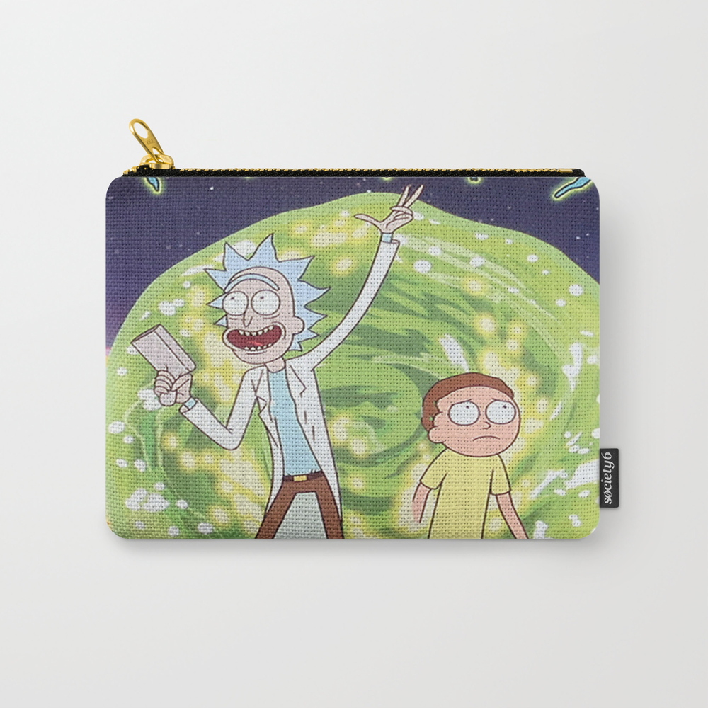 Rick And Morty Season 2 Carry-all Pouch by Thanhthuanqtlh02 CAP7803148