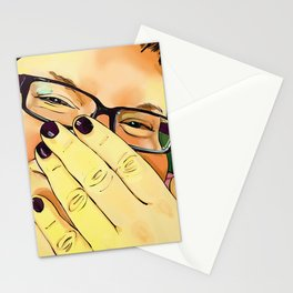 Bashful Stationery Cards