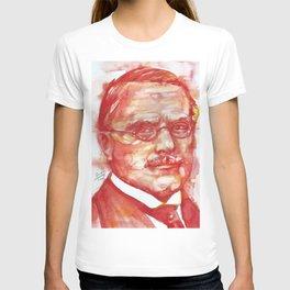 CARL JUNG watercolor portrait .6 T-shirt