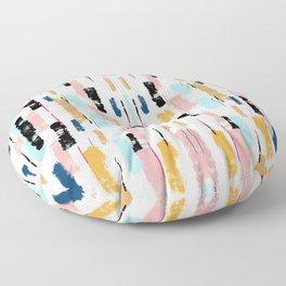 Abstract Pastel Floor Pillow