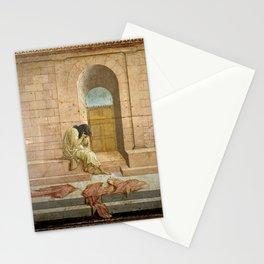 Filippino Lippi - Mordecai Weeping Stationery Cards