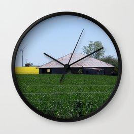 Waubra Wind Farm Victoria Wall Clock