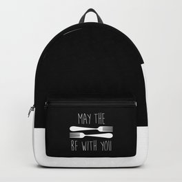 May The Forks Be With You Backpack