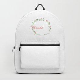 Newlyweds Wedding Marriage Couples Bride Groom Bridegroom Gift Here Comes The Bride Backpack