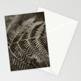 Fern in sepia Stationery Cards