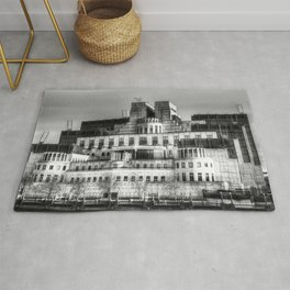 SIS Secret Service Building London Rug