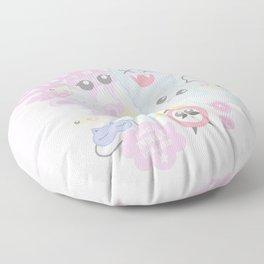 Sleep Mode Floor Pillow