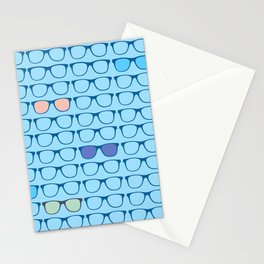 Eyeglasses Everywhere Stationery Cards