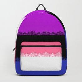 Pride - genderfluid fancy Backpack