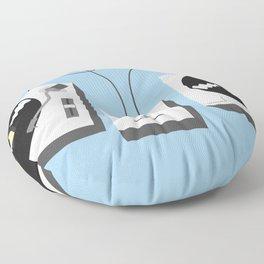Turntables Floor Pillow