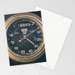 Vintage Speedometer Stationery Cards