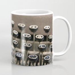 An old fashioned type writer Coffee Mug