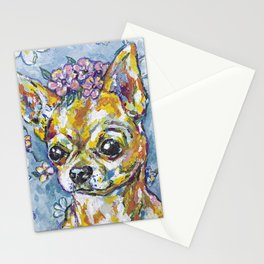 Fri the Chihuahua  Stationery Cards