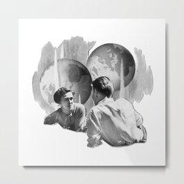 NatGeo Gemini Couple Metal Print