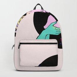 alien pizza money pig Backpack