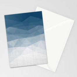 Imperial Topaz - Geometric Triangles Minimalism Stationery Cards