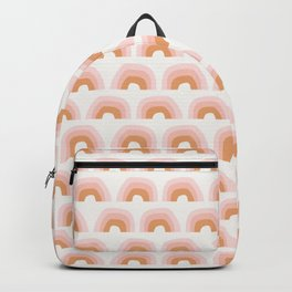 Abstract Playground Rainbow | Pink Backpack