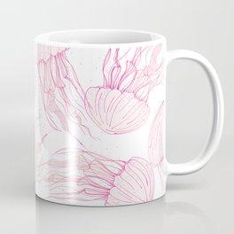 Pink jellyfish Coffee Mug