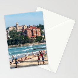 Manly Beach, Sydney Stationery Cards
