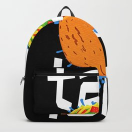 Taco Loco Tacos Mexikan Food Backpack
